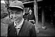 Portrait of a hilltribe couple, Ha Giang Province, Vietnam, Southeast Asia