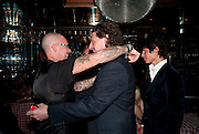 AGGI;  MARCO PIERRE WHITE; LUCIANO PIERRE WHITE, , launch of Fabulous Haircare Range, Frankie's Italian Bar and Grill, 3 Yeomans Row, off Brompton Road, London SW3, 7pm