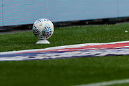 A clean match ball waits to be used as they are washed down every time they go outta play during the EFL Sky Bet Championship match between Bristol City and Cardiff City at Ashton Gate, Bristol, England on 4 July 2020.