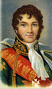 Joachim Murat (1767-1815) French military commander and one of NapoleonI's greatest Marshals. Created King of Naples 1808. Chromolithograph.