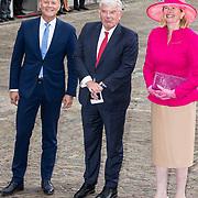 NLD/Den Haag/20190917 - Prinsjesdag 2019,  Burgermeester Pauline Krikke arriveert samen met Jan van Zanen, burgemeester van Utrecht