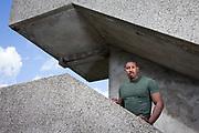 Sephton Henry, reformed gang member photographed at Thamesmead