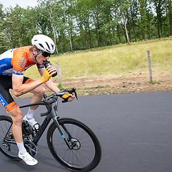 WIJSTER (NED) June 19: <br /> CYCLING <br /> Dutch Nationals Road U23 up and around the Col du VAM<br /> Joren Bloem