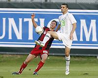 GRAZ,AUSTRIA,05.AUG.11 - FUSSBALL - OEFB Samsung Cup, SK Sturm Graz Amateure vs LASK Linz. Bild zeigt Florian Templ (LASK) und Krunoslav Cicak (Sturm Amateure).<br /> Norway only