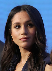 Meghan Markle attends the first Royal Foundation Forum in central London.