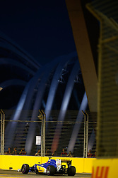 September 16, 2016 - Singapur, Singapur - Motorsports: FIA Formula One World Championship 2016, Grand Prix of Singapore, .#12 Felipe Nasr (BRA, Sauber F1 Team) (Credit Image: © Hoch Zwei via ZUMA Wire)