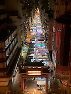 Night markets are one of my favorite parts of visiting Asia, and Hong Kong's narrow streets make them feel like a river of light in the night.