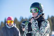 Maxence Parrot during Snowboard Slopestyle Practice during 2015 X Games Aspen at Buttermilk Mountain in Aspen, CO. ©Brett Wilhelm/ESPN