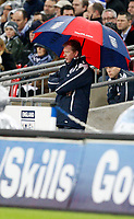 Photo: Richard Lane/Sportsbeat Images.<br />England v Croatia. UEFA European Championships Qualifying. 21/11/2007. <br />England's manager, Steve McClaren.