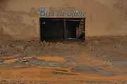 A food store affected by a flood of mud in Paracatu de Baixo, one of the districts of Mariana, a brazilian city in the state of Minas Gerais. On november 5th, a mining waste dam failed causing a flood of mud.