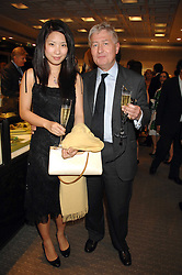 CHRISTOPHER MORAN and SHU JIN at an evening of private shopping in aid of Elizabeth Fitzroy Support at Tiffany & Co, 145 Sloane Street, London on 14th May 2008.<br /><br />NON EXCLUSIVE - WORLD RIGHTS