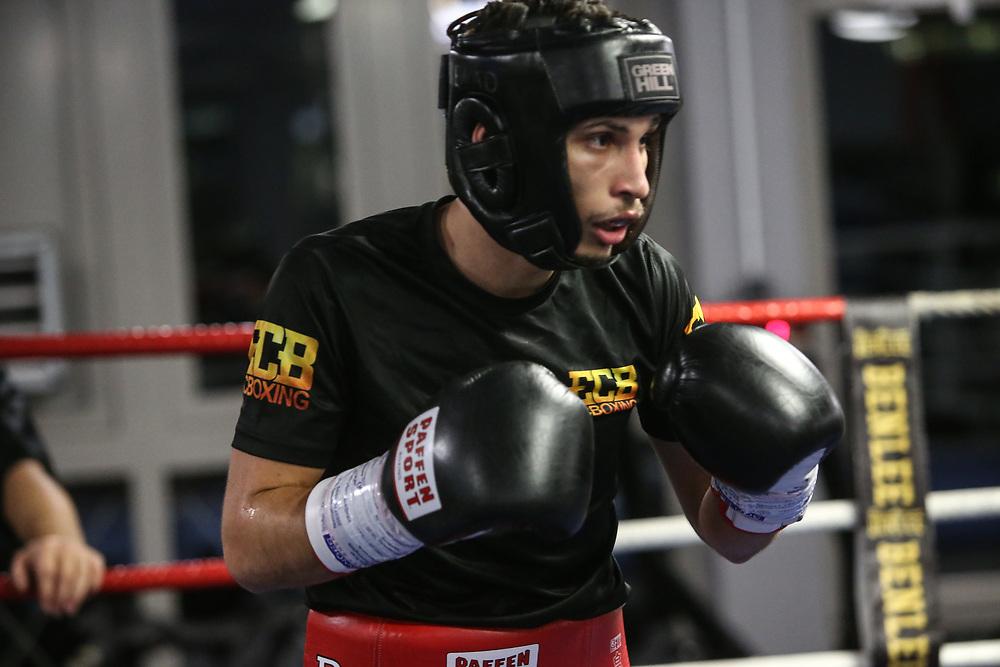 BOXEN: EC Boxing, Training, Hamburg, 07.01.2020<br /> Nenad Stancic<br /> © Torsten Helmke