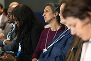Participants listen during the session Investing in Mental Health at the World Forum World Economic Forum on Africa 2019. Copyright by World Economic Forum / Greg Beadle
