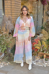 Rosie Fortescue at a cocktail and dinner hosted by fashion label Free People at Free People 38-39 Duke of York Square, Chelsea, London England. 21 May 2019.