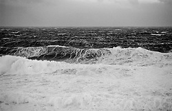 Storm and surf in Grimsey, north of Iceland - Stormur og öldur  í Grímsey