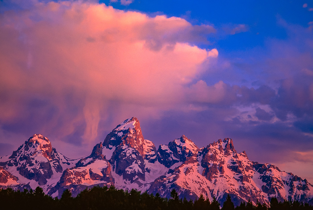 The Cathedral Group, Grand Teton National Park, Wyoming, USA