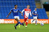 Cardiff City's Curtis Nelson (16) in action during the EFL Sky Bet Championship match between Cardiff City and Millwall at the Cardiff City Stadium, Cardiff, Wales on 30 January 2021.