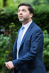 Downing Street, London, June 14th 2016. Work and Pensions Secretary Stephen Crabb arrives at 10 Downing Street to attend the weekly cabinet meeting.