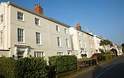 Regency style housing, St Peter Port, Guernsey, Channel Islands, UK