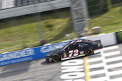 June 1, 2018 - Long Pond, Pennsylvania, United States of America - Cole Whitt (72) brings his car down the frontstretch during qualifying for the Pocono 400 at Pocono Raceway in Long Pond, Pennsylvania. (Credit Image: © Chris Owens Asp Inc/ASP via ZUMA Wire)