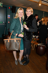Left to right, SIGRID KIRK and ISABELLA McPHERSON at a ladies lunch hosted by Thomasina Miers was held at her restaurant Wahaca, 19-23 Charlotte Street, London W1 on 10th January 2014.