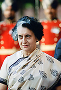 Indian Prime Minister Indira Ghandi, India