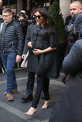 Meghan Markle in New York for baby shower of close friend Misha Nonoo. 19 Feb 2019 Pictured: Meghan Markle. Photo credit: MEGA TheMegaAgency.com +1 888 505 6342