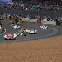 Start Le Mans 24H 2012