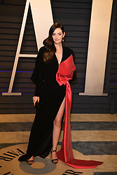 Lydia Hearst-Shaw attending the 2019 Vanity Fair Oscar Party hosted by editor Radhika Jones held at the Wallis Annenberg Center for the Performing Arts on February 24, 2019 in Los Angeles, CA, USA. Photo by David Niviere/ABACAPRESS.COM