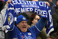 Photo: Pete Lorence.<br />Leicester City v Coventry City. Coca Cola Championship. 17/02/2007.<br />Fans were clearly delighted with Mandaric's decision to buy out the club.