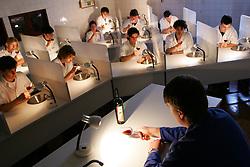 Curso de enologia no CEFET (Centro Federal de Educação Tecnológica) de Bento Gonçalves, a 120 km de Porto Alegre.  Único do Brasil na área. FOTO: Jefferson Bernardes/Preview.com