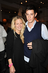 ASTRID HARBORD and JAMES ROTHSCHILD at reception to raise funds for a Ugandan School Project supported by the Henry van Straubenzee Memorial Fund held at Few & Far, 242 Brompton Road, London SW3 on 11th February 2010.