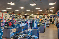 Interior image of Mount Clare Junction Retail Center in Baltimore MD by Jeffrey Sauers of Commercial Photographics, Architectural Photo Artistry in Washington DC, Virginia to Florida and PA to New England