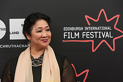Photo-opportunity for The Receptionist directed by Jenny Lu at the Edinburgh International Film Festival<br /> <br /> Pictured: Sophie Gopsill