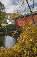Arlington Green Covered Bridge, West Arlington, Vermont