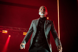 April 27, 2018 - Birmingham, England, United Kingdom - Benjamin Paul Ballance-Drew aka Plan B performs at o2 Academy. (Credit Image: © RMV via ZUMA Press)