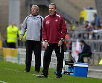Photo: Daniel Hambury.<br />Northampton Town v Swansea City. Coca Cola League 1. 28/10/2006.<br />Swansea's manager Kenny Jackett.