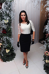 Laila Rouass at the launch of the English National Ballet's Christmas season 2009 held at the St.Martin;s Lane Hotel, London on 15th December 2009.