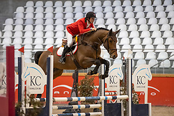 Mathias Bernardo, POR, Eyeball vd Moervelde Z<br /> Pavo Hengsten competitie - Oudsbergen 2021<br /> © Hippo Foto - Dirk Caremans<br />  22/02/2021