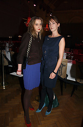 Left to right, sisters DAISY DE VILLENEUVE and POPPY DE VILLENEUVE at the 6th annual Lancome Colour Design Awards in association with CLIC Sargent Cancer Care held at Lindley Hall, Victoria, London on 28th November 2006.<br /><br />NON EXCLUSIVE - WORLD RIGHTS