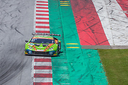 09.06.2019, Red Bull Ring, Spielberg, AUT, ADAC GT Masters Spielberg, Rennen, im Bild Rolf Ineichen (SUI)/Franck Perera (FRA) Lamborghini Huracán GT3 // Swiss ADAC GT Masters driver Rolf Ineichen/French ADAC GT Masters driver Franck Perera Lamborghini Huracán GT3 during the Race for the ADAC GT Masters at the Red Bull Ring in Spielberg, Austria on 2019/06/09. EXPA Pictures © 2019, PhotoCredit: EXPA/ Dominik Angerer