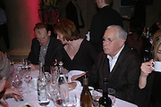 ANDREW MARR, JULIA PEYTON-JONES AND HOWARD HODGKIN, Turner Prize 2005. Tate Britain.   5 December  2005. ONE TIME USE ONLY - DO NOT ARCHIVE  © Copyright Photograph by Dafydd Jones 66 Stockwell Park Rd. London SW9 0DA Tel 020 7733 0108 www.dafjones.com