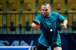 Peter PALOS of Hungary plays final match during Day 4 of SPINT 2018 - World Para Table Tennis Championships, on October 20, 2018, in Arena Zlatorog, Celje, Slovenia. Photo by Vid Ponikvar / Sportida