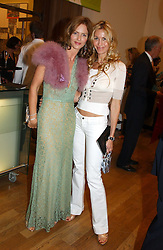 Left to right, TRINNY WOODALL and MELISSA ODABASH at the Royal Academy of Arts Summer Exhibition Preview Party held at Burlington House, Piccadilly, London on 2nd June 2005<br />