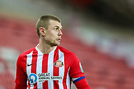 Portrait of Sunderland midfielder Max Power (6) during the EFL Trophy semi-final match between Sunderland and Lincoln City at the Stadium Of Light, Sunderland, England on 17 February 2021.