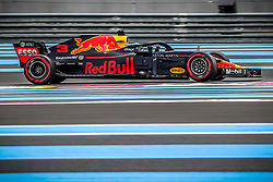 Daniel Ricciardo (Aston Martin Red Bull Racing) rides during the qualifying session of Grand Prix de France 2018, Le Castellet, France, on June 23rd, 2018. Photo by Marco Piovanotto/ABACAPRESS.COM