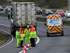 A36 Lorry Roll Over