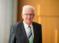 DEU, Deutschland, Germany, Berlin, 11.09.2018: Portrait von Baden-Württembergs Ministerpräsident Winfried Kretschmann (Die Grünen).