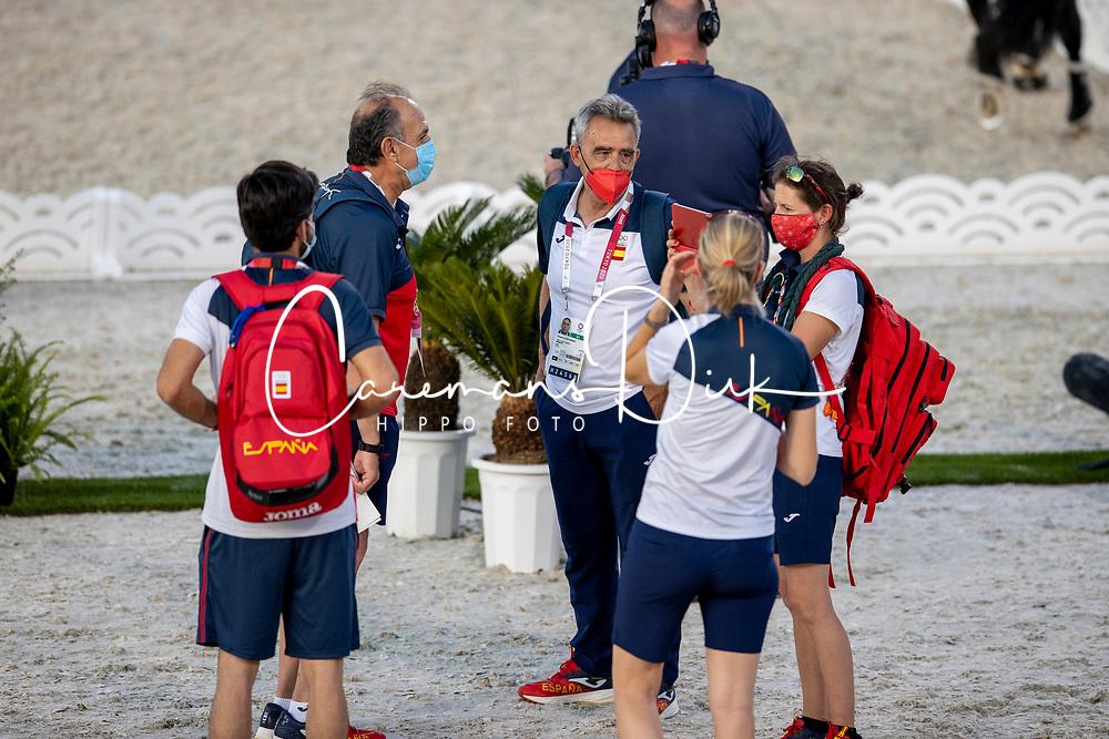 Team Spain<br /> Olympic Games Tokyo 2021<br /> © Hippo Foto - Dirk Caremans<br /> 21/07/2021