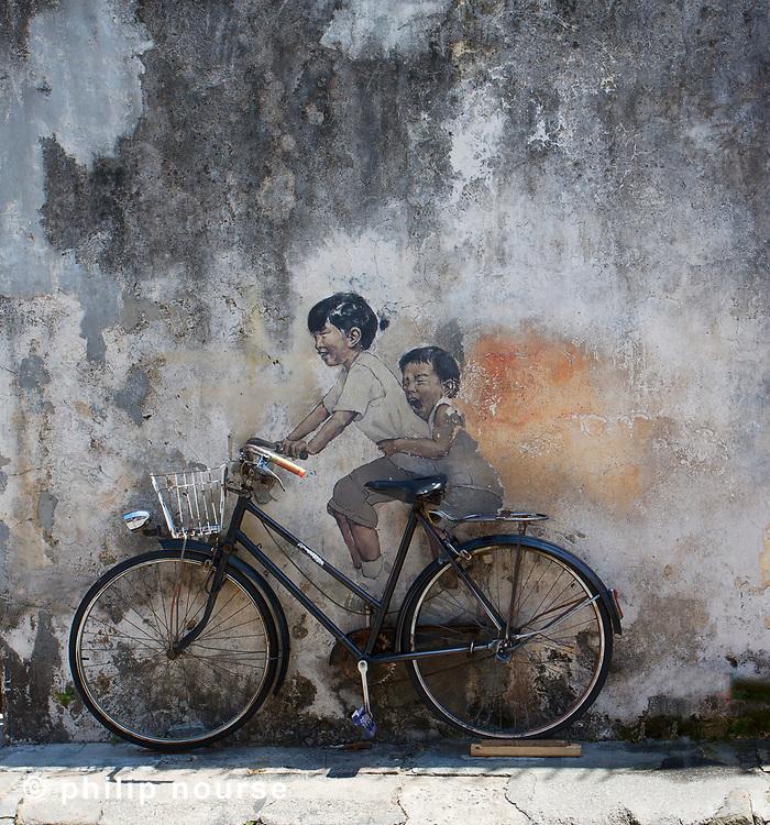 Street Art, George Town, Penang, Malaysia
